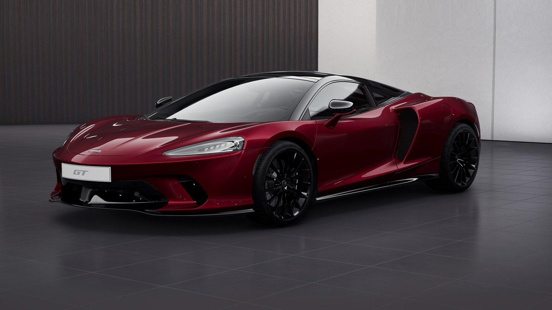 New McLaren GT Amaranth Red