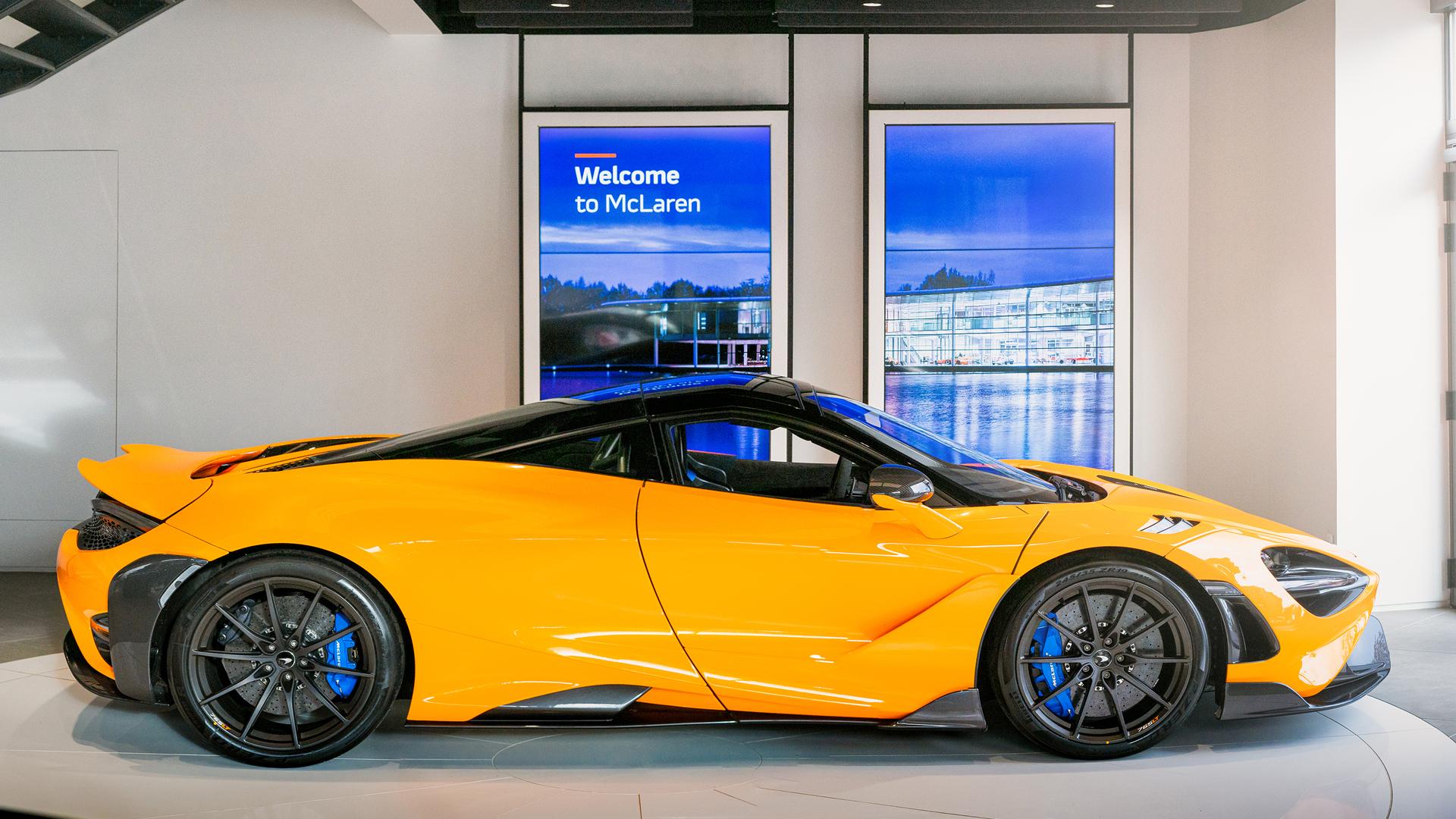 Notícias - McLaren 765LT Prêmio