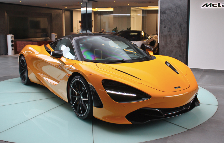 McLaren 720S Coupé Volcano Yellow