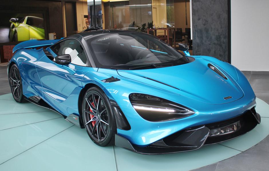McLaren 765LT Ludus Blue