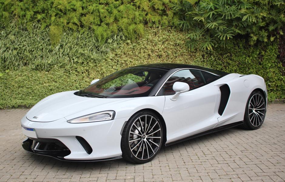 New McLaren GT Cirrus Grey